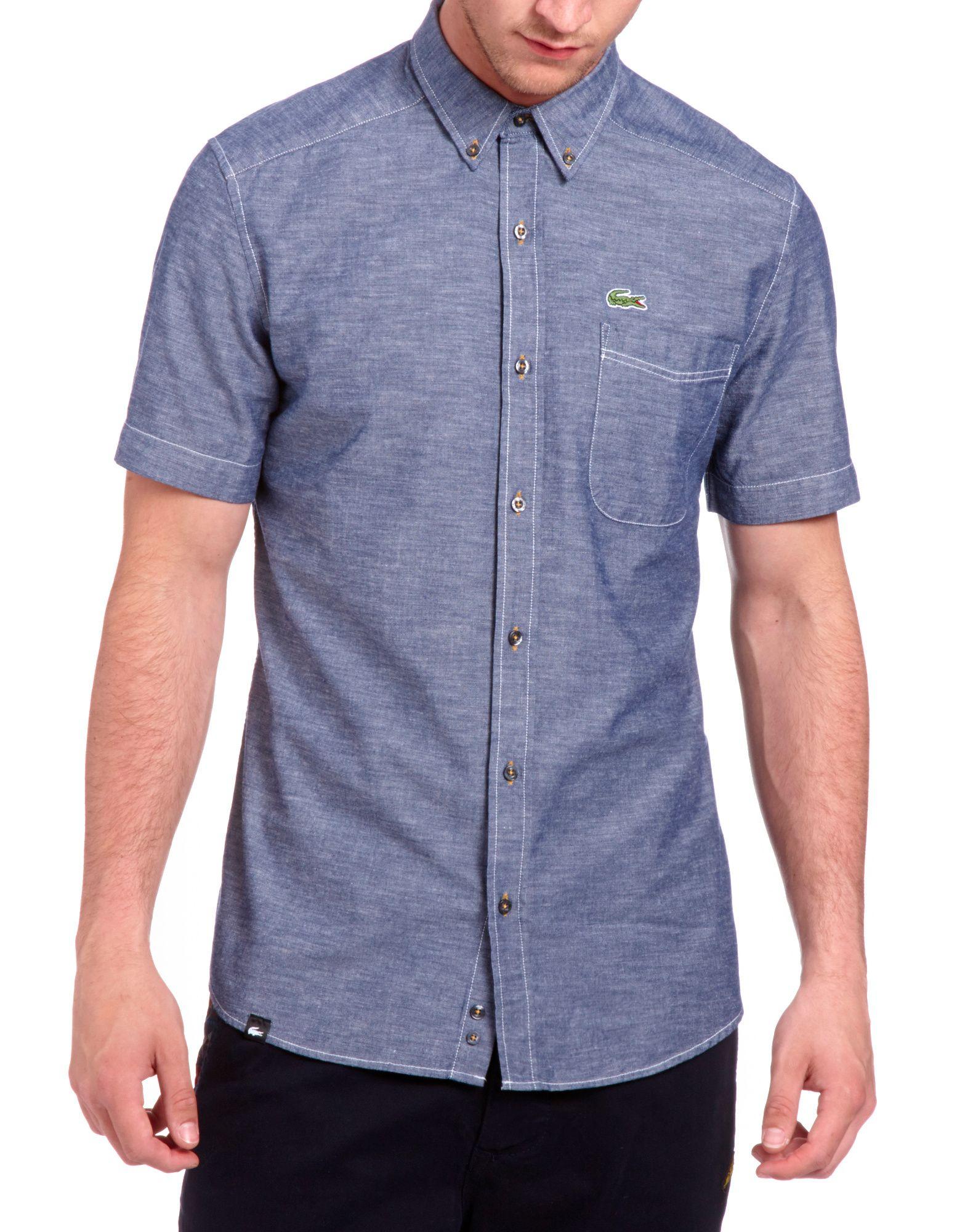Lacoste Plain Pocket Shirt