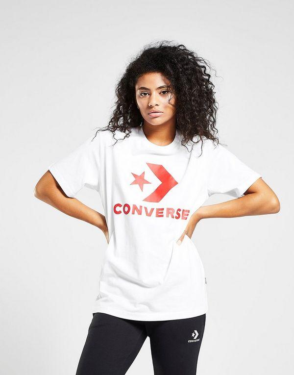 Converse Star Chevron Boyfriend T-Shirt  972eef228fea2