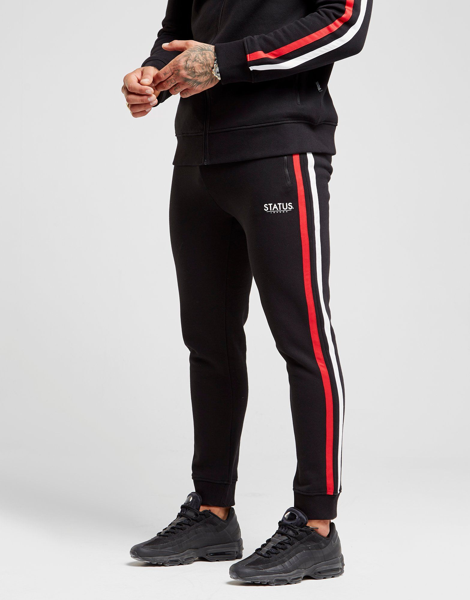 STATUS Mock Fleece Joggers