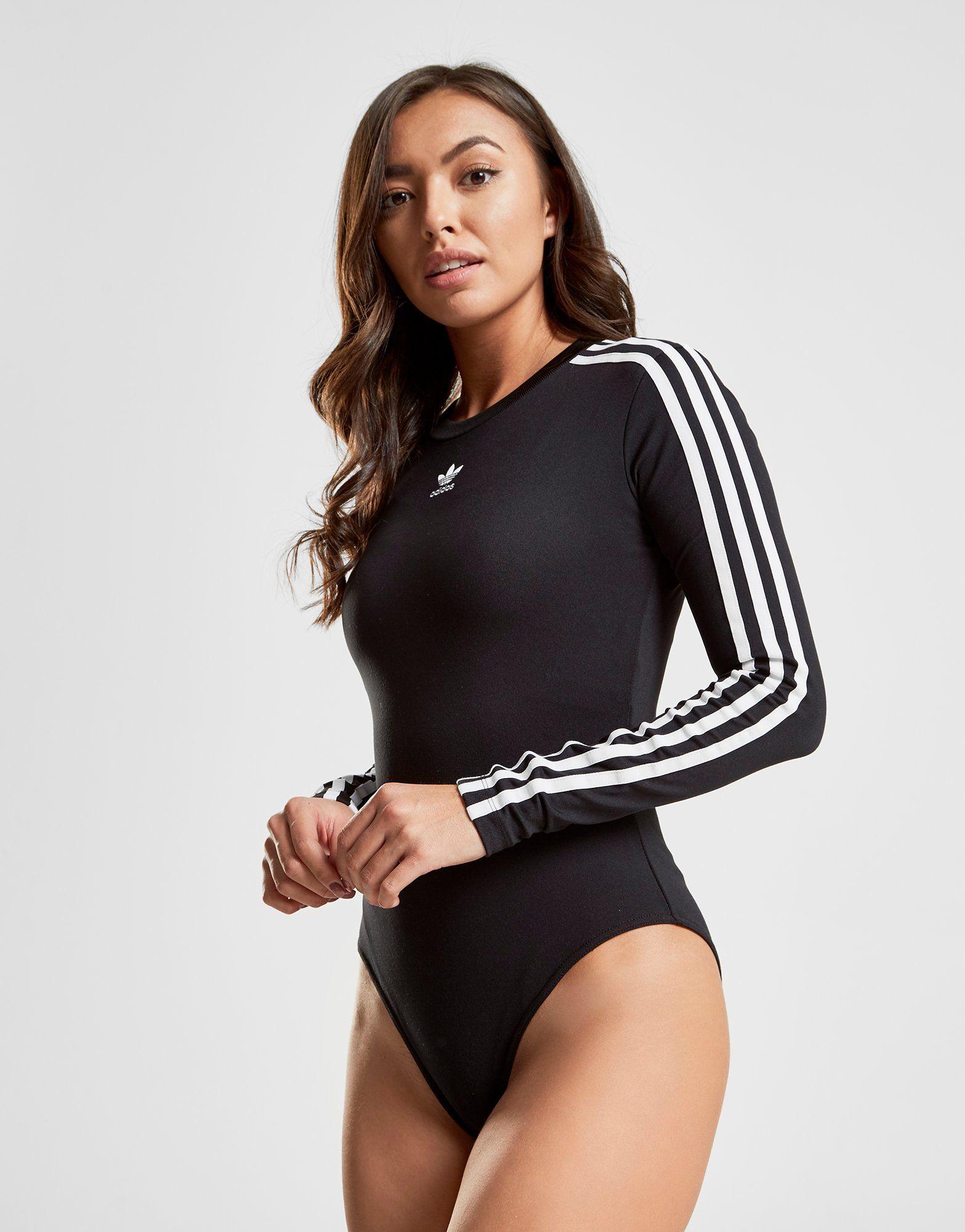 adidas Originals Body manches longues 3-Stripes Femme