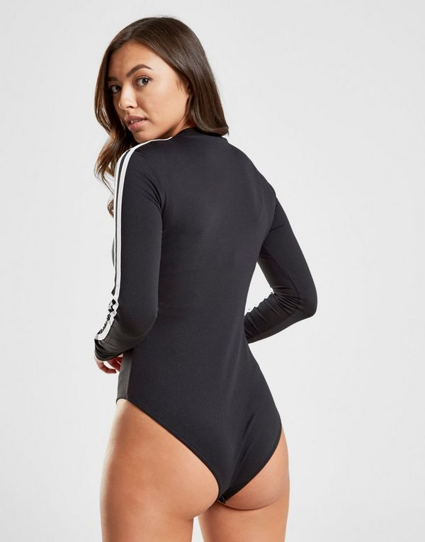 adidas Originals 3-Stripes Long Sleeve Bodysuit  5a93dcc9d8f4