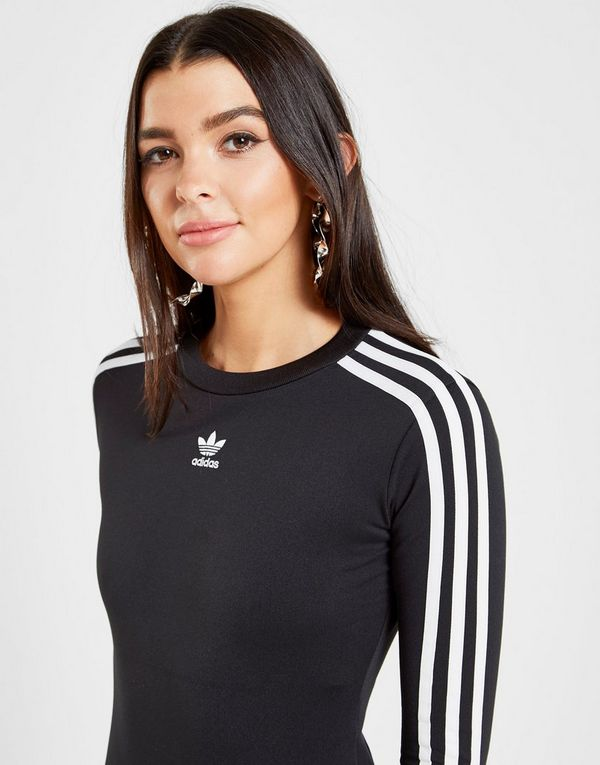 3 Stripes Sports Adidas DonnaJd Body A Originals Lunghe Maniche yf67bg
