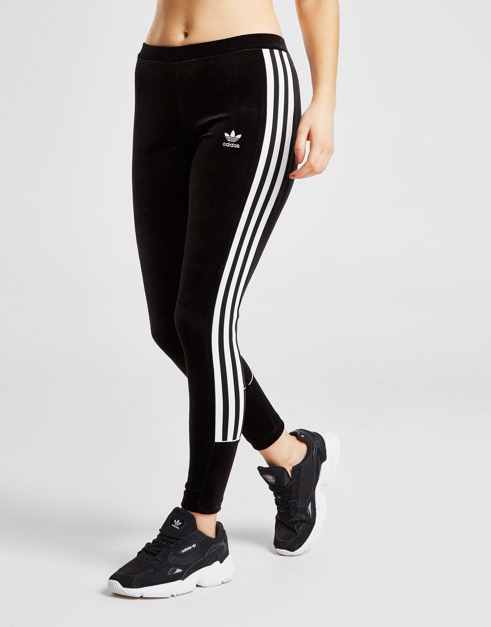Cher Adidas Stripes Leggings Originals Trefoil Pas Www 3 Velvet wnAxPq0a1n