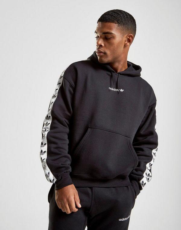 adidas Originals Tape Fleece Felpa con cappuccio  34af9de2ce4a