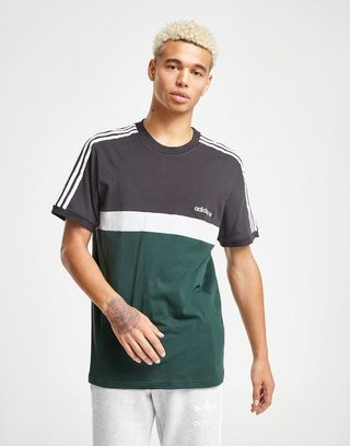 look good shoes sale new high classic styles adidas Originals T-shirt Itasca Colour Block Homme | JD Sports