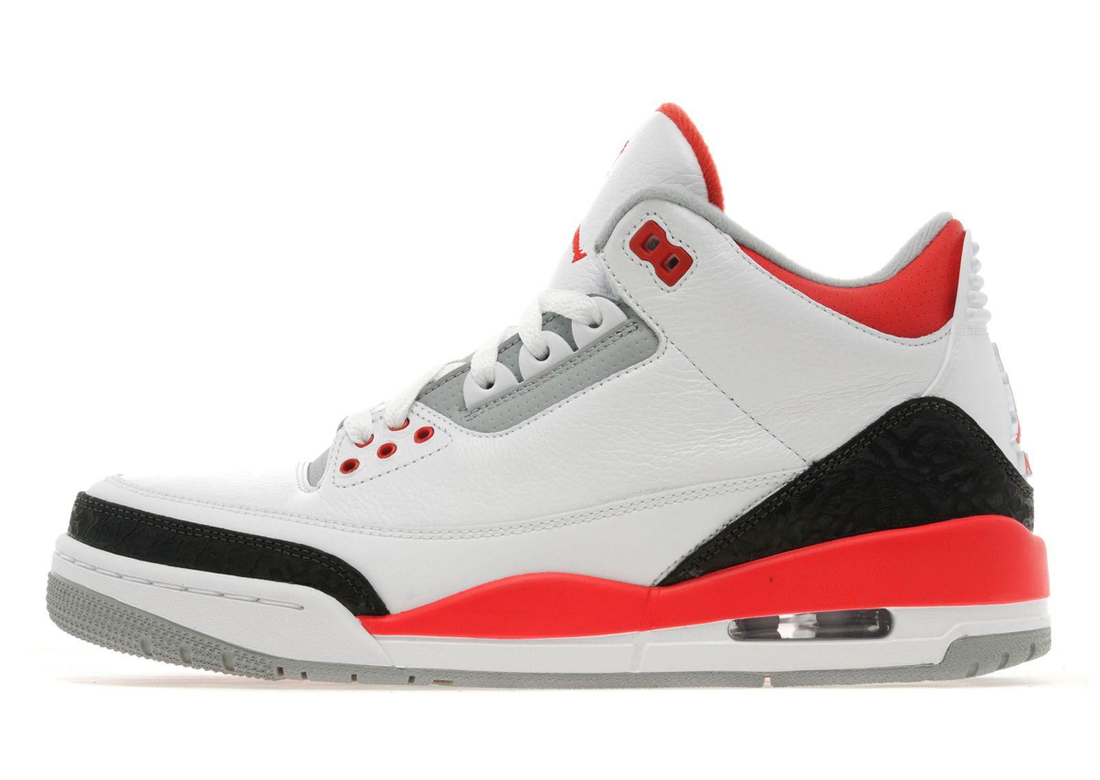 Jordan III 'Fire Red'