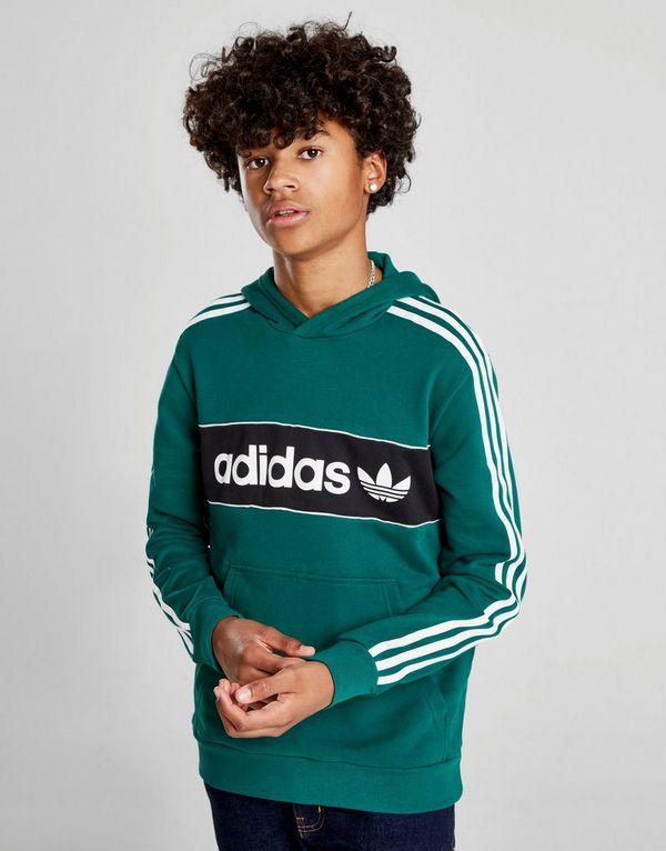 c1f1c350f adidas Originals Linear Fleece Overhead Hoodie Junior | JD Sports ...