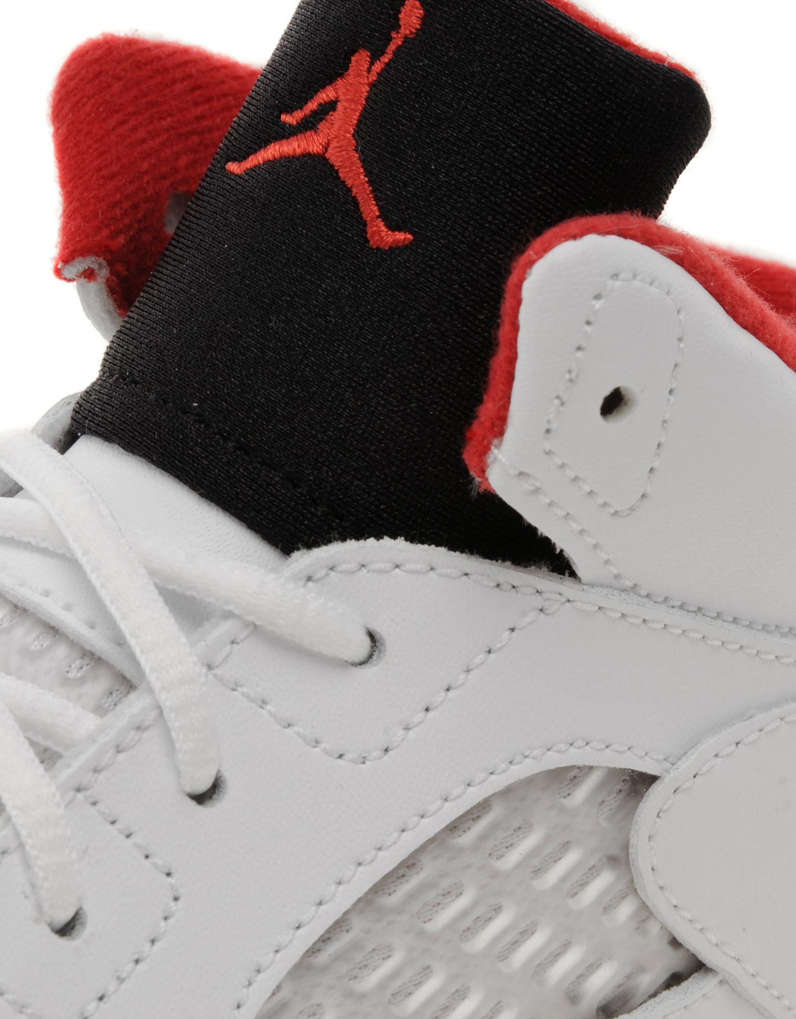 Jordan V 'Fire Red' Infants