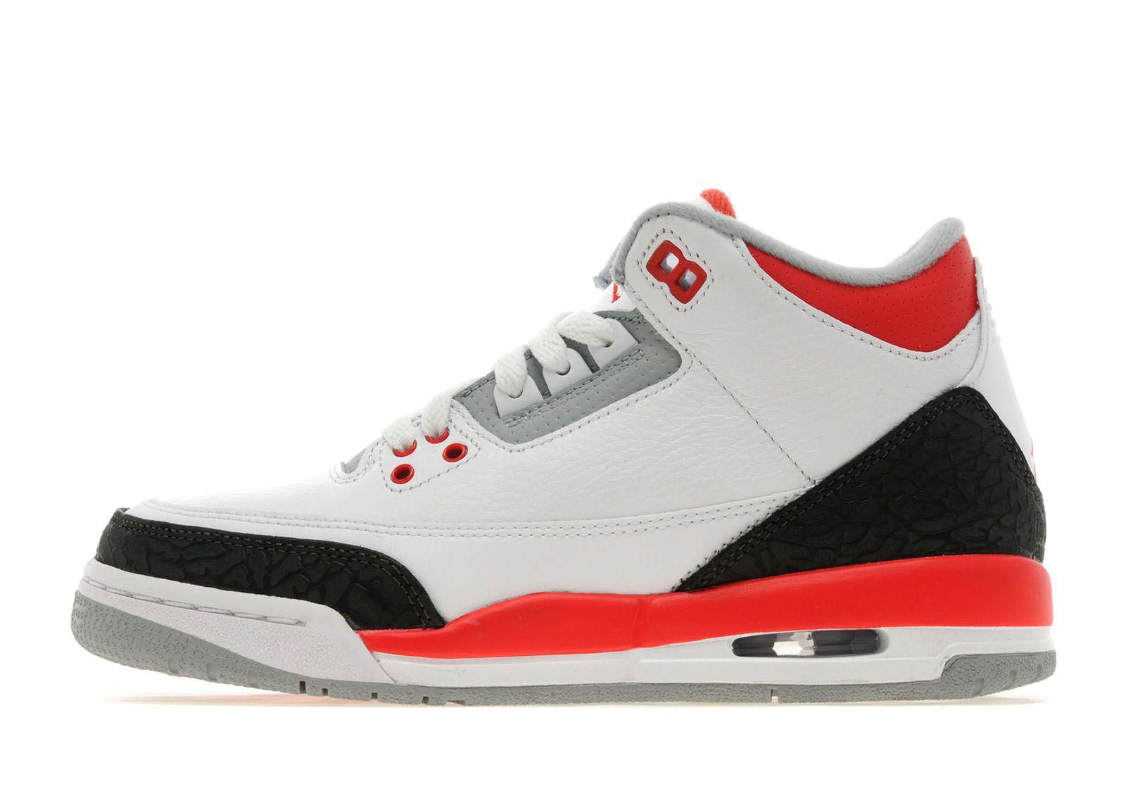 Jordan III 'Fire Red' Junior