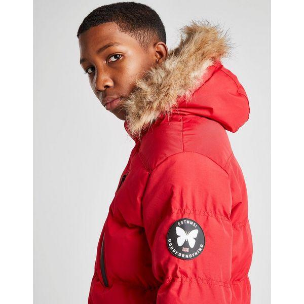 Good For Nothing Fur Parka Jacket Junior