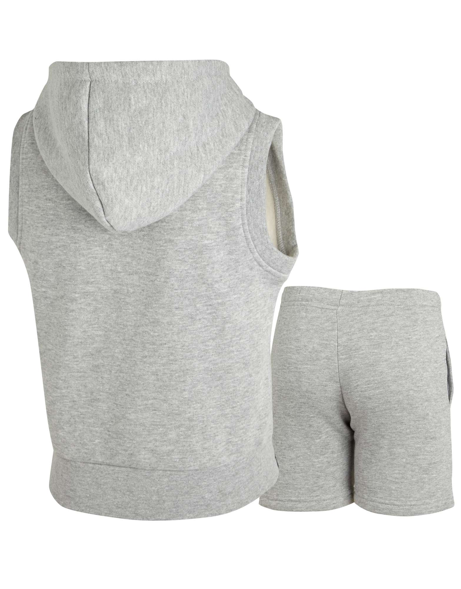 Carbrini Sleeveless Hoody and Shorts Set Childrens