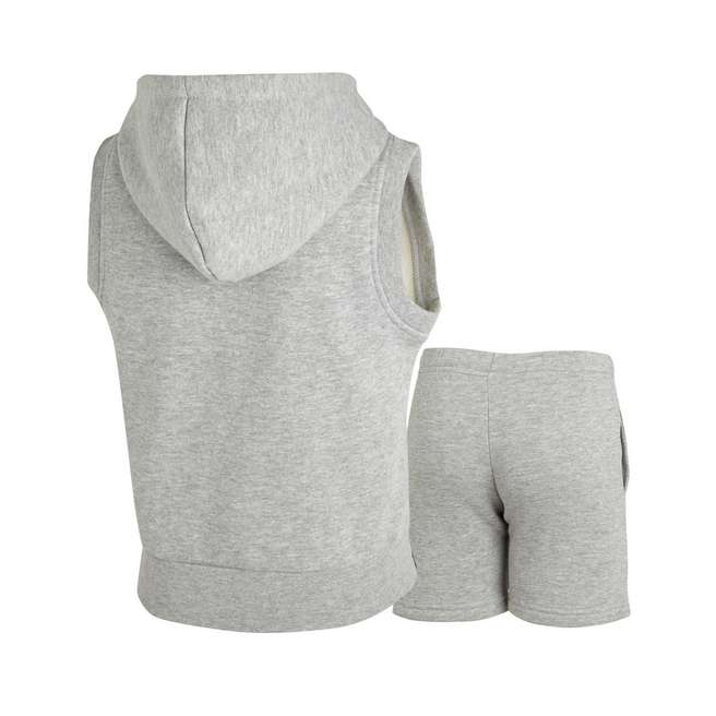 Carbrini Sleeveless Hoody and Shorts Set Childrens