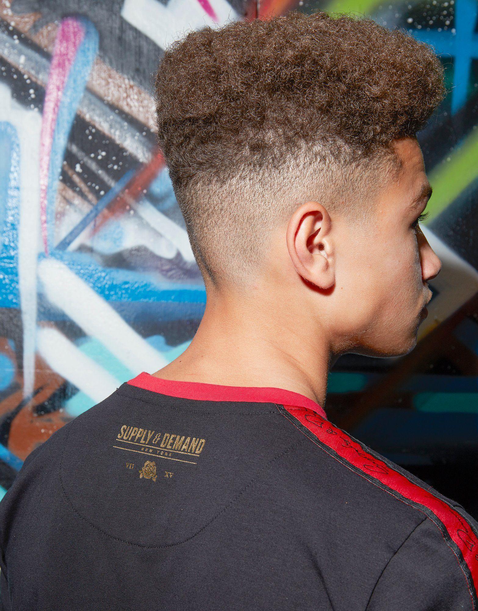 Supply & Demand Gold Script T-Shirt Junior