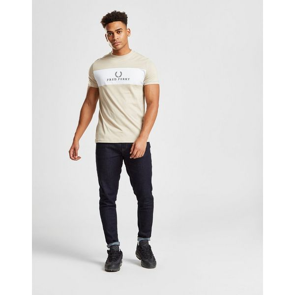 d29dcd2d7e51 Fred Perry Centre Panel T Shirt by Fred Perry