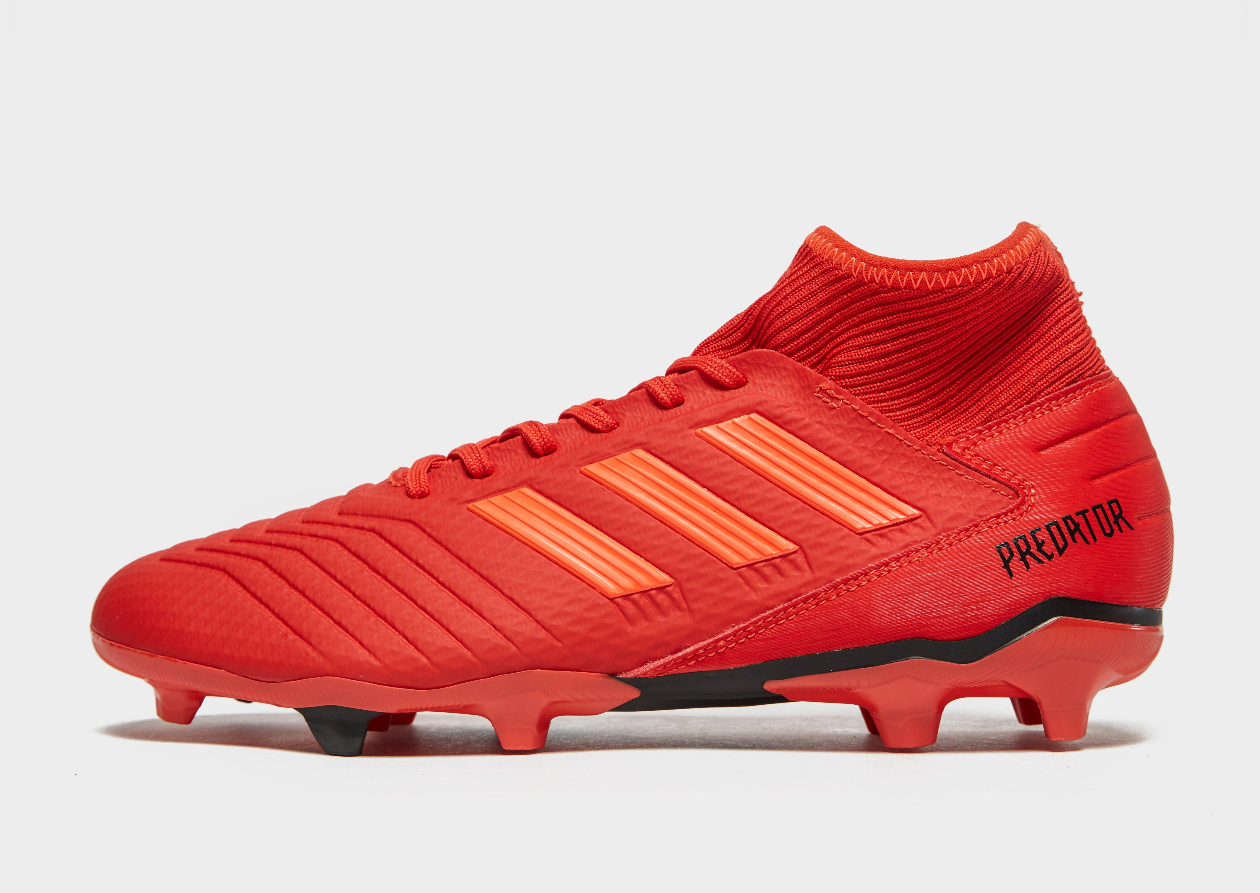 6660f87210b New adidas Initiator Predator 19.3 FG Football Boots Red