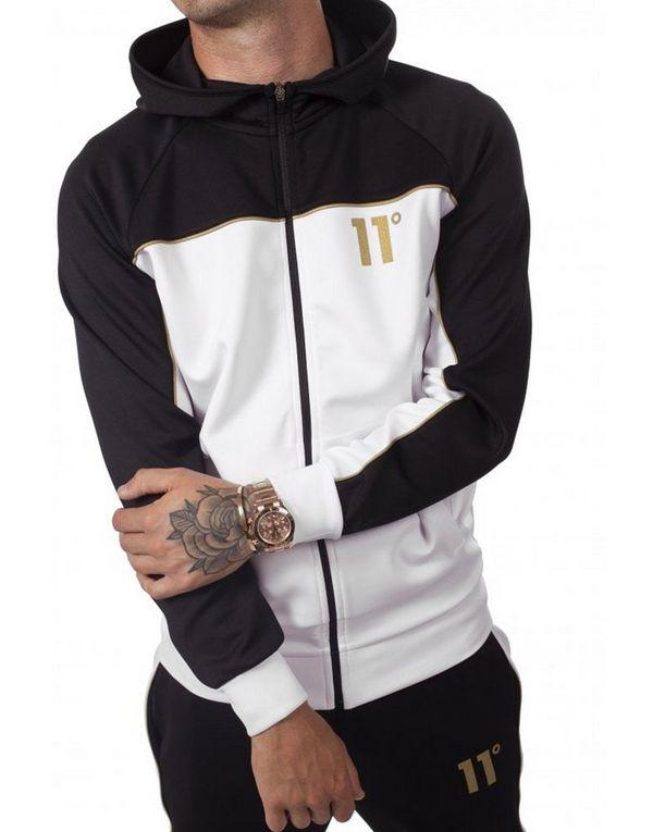 11 Degrees chaqueta con capucha Colour Block Poly  73082214745db