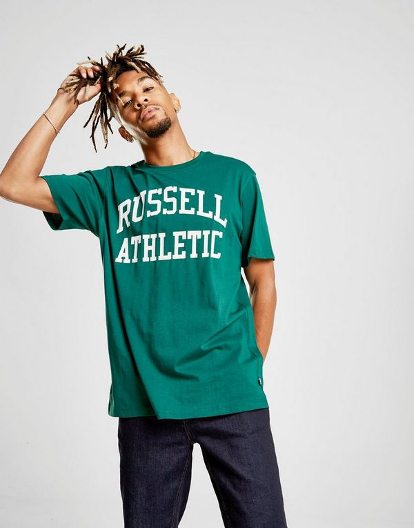 Russell Athletic Arch Logo Short Sleeve T-Shirt  fac629e0bbb8f