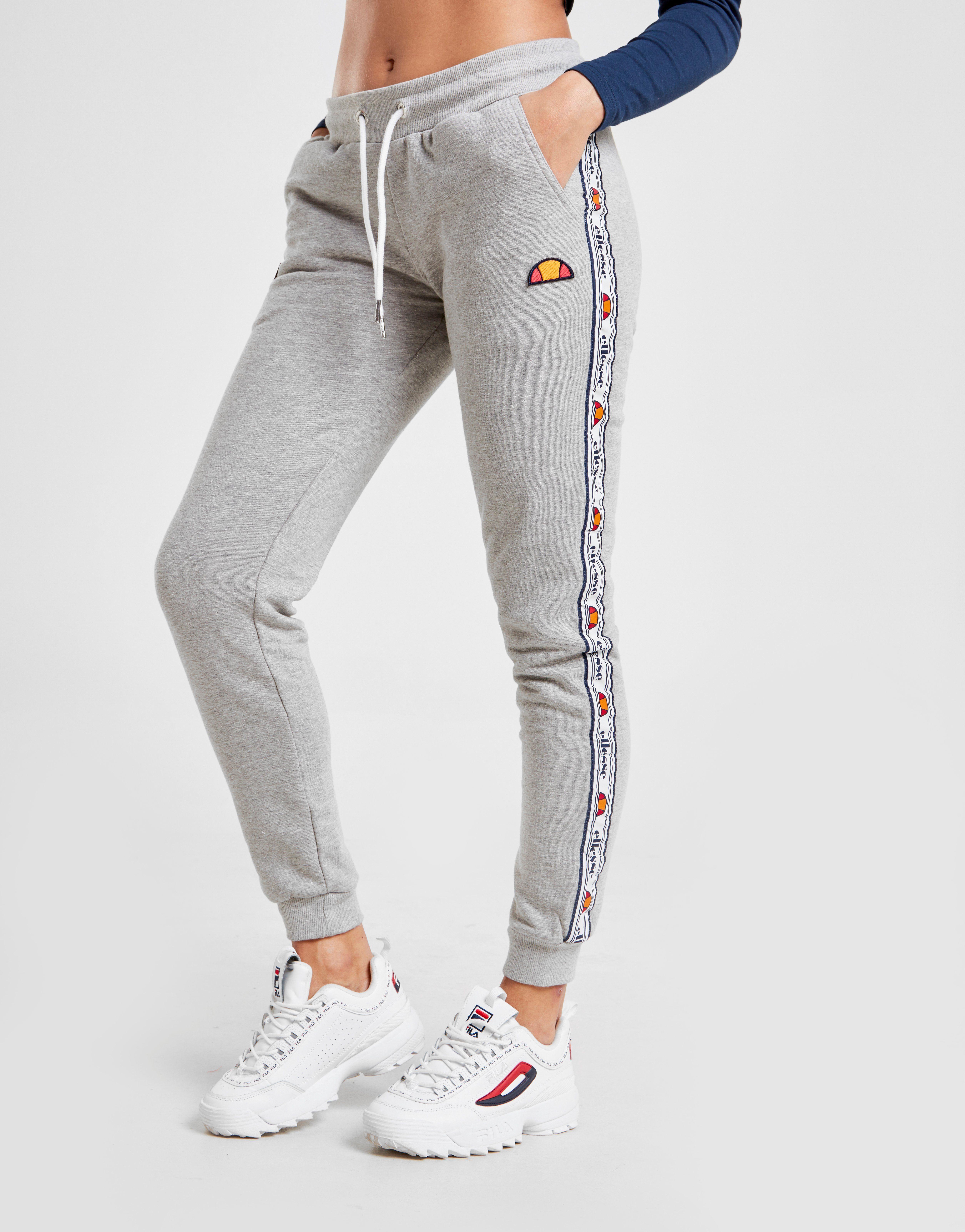 Ellesse Tape Fleece Track Pants Dames