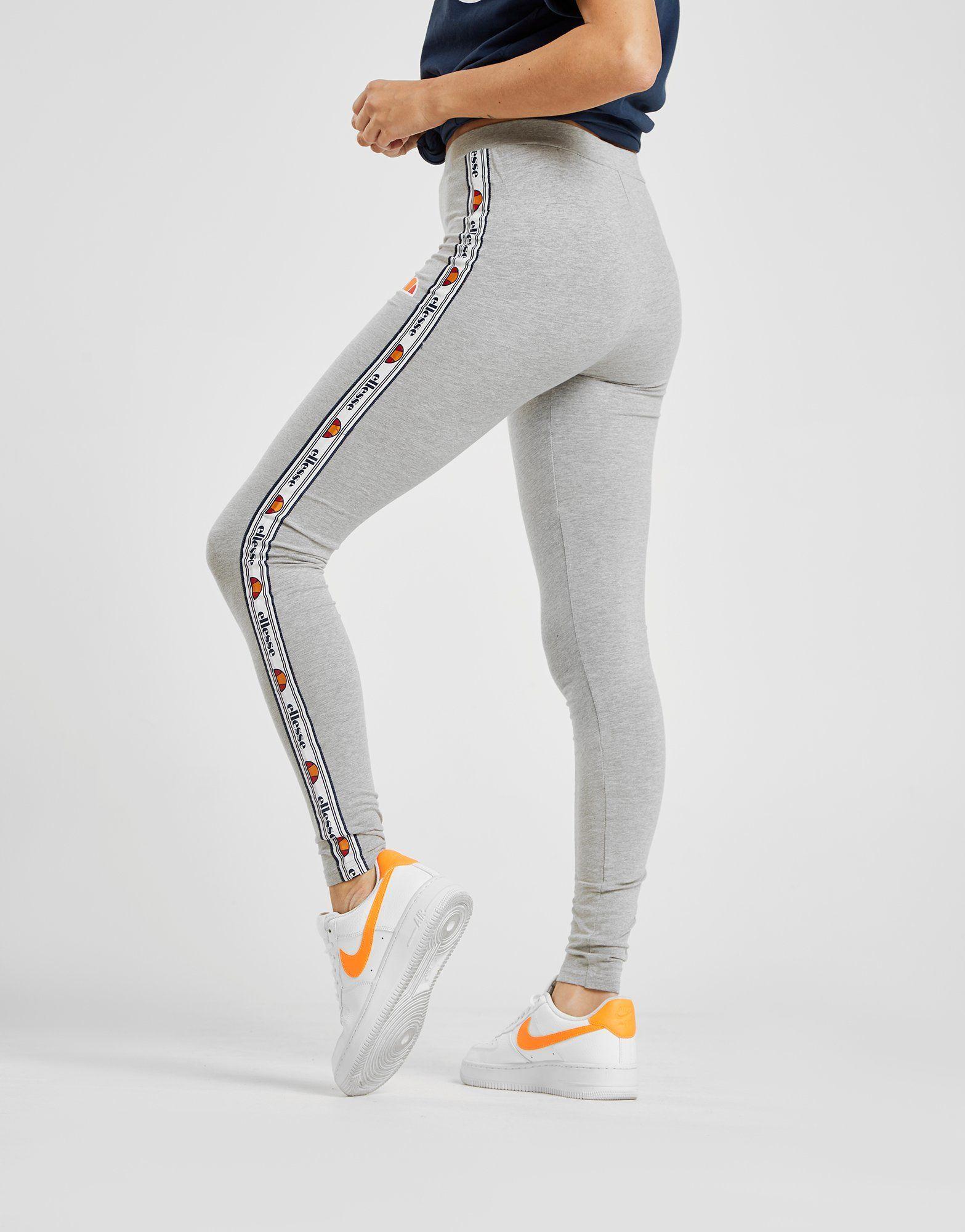 ellesse tape leggings dames jd sports