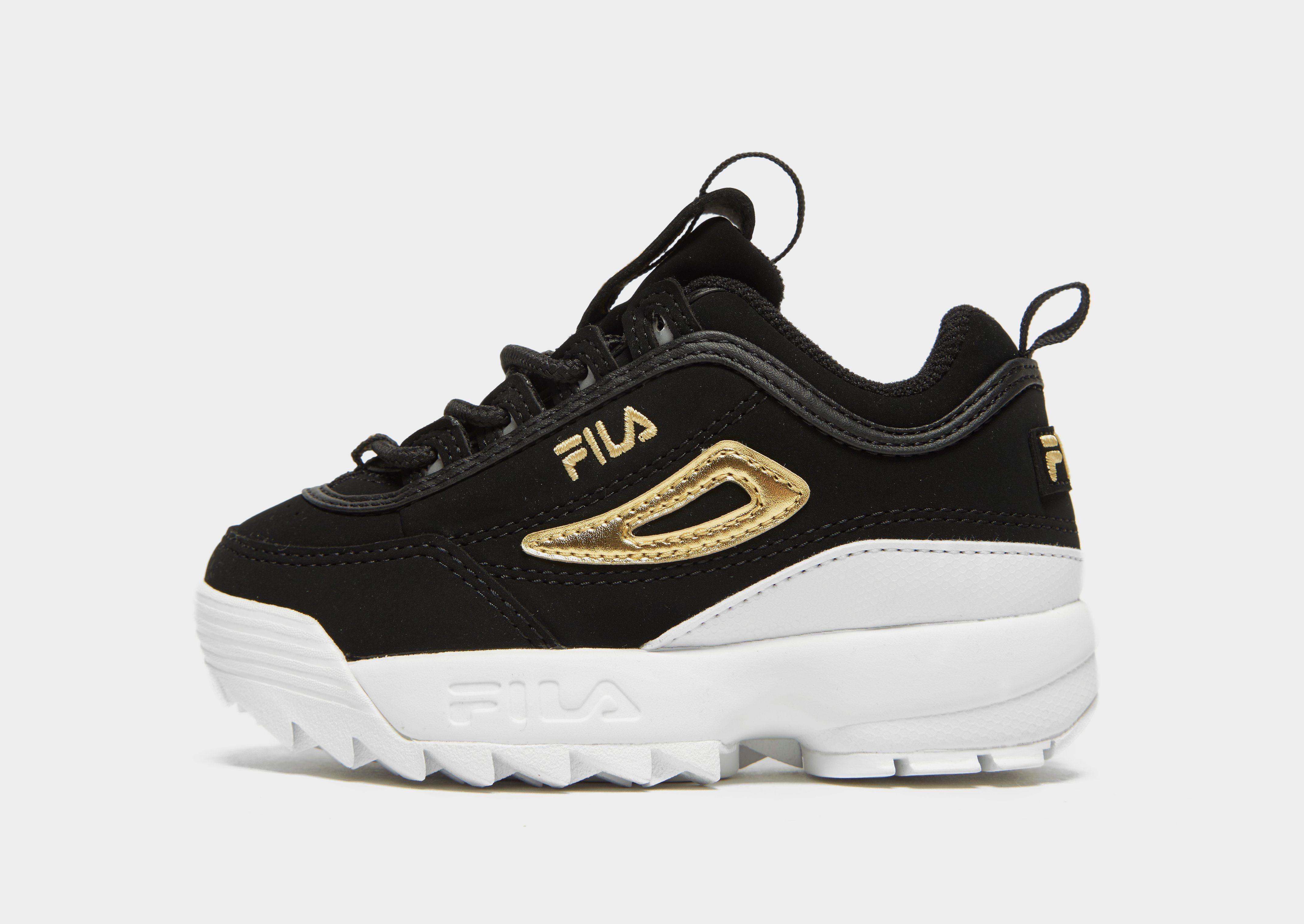 chaussure fila jd blanche doré