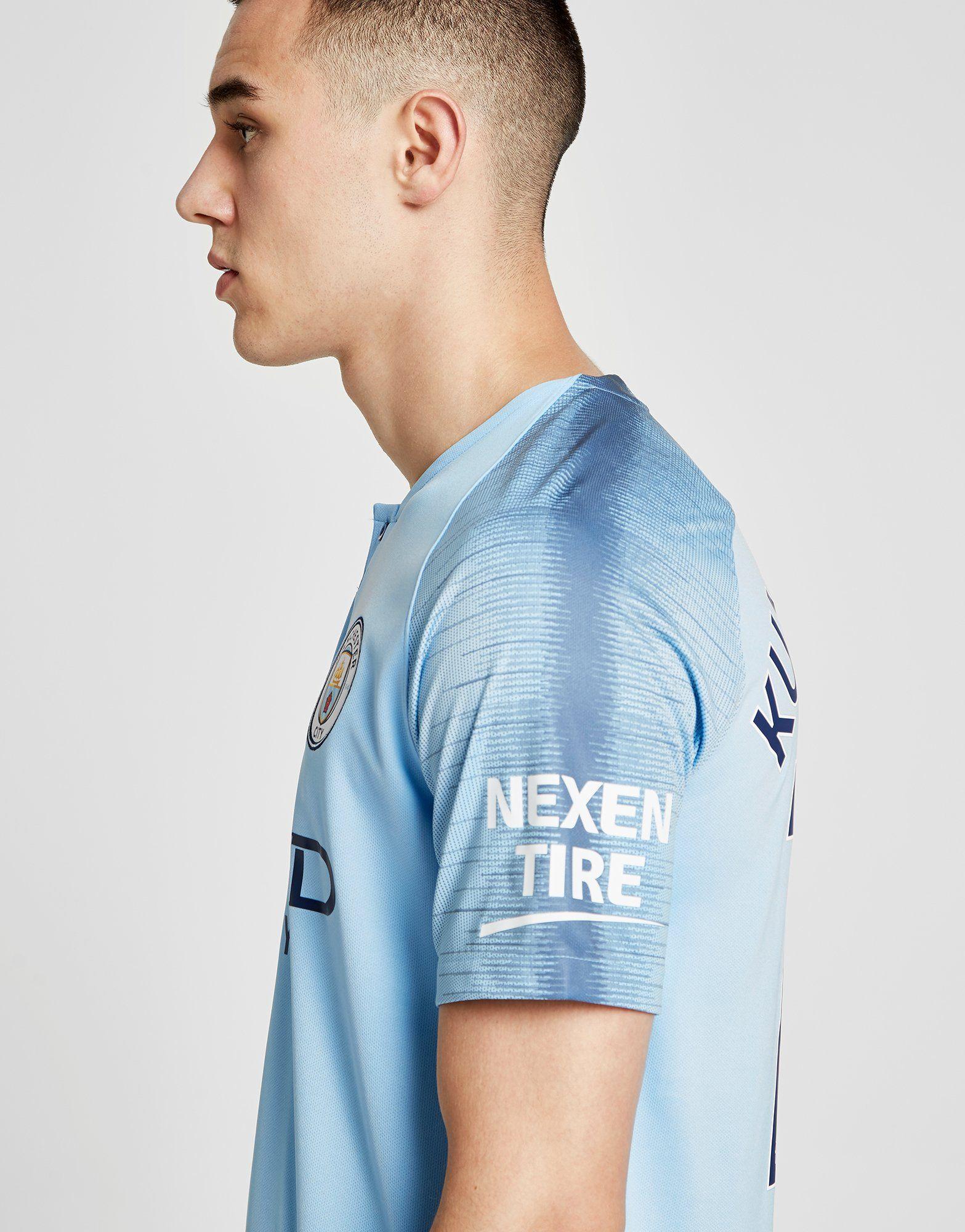 Nike Manchester City FC 2018/19 Aguero #10 Home Shirt