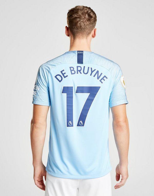 Nike Manchester City 2018 19 De Bruyne  17 Home Shirt  7fc76a4a7