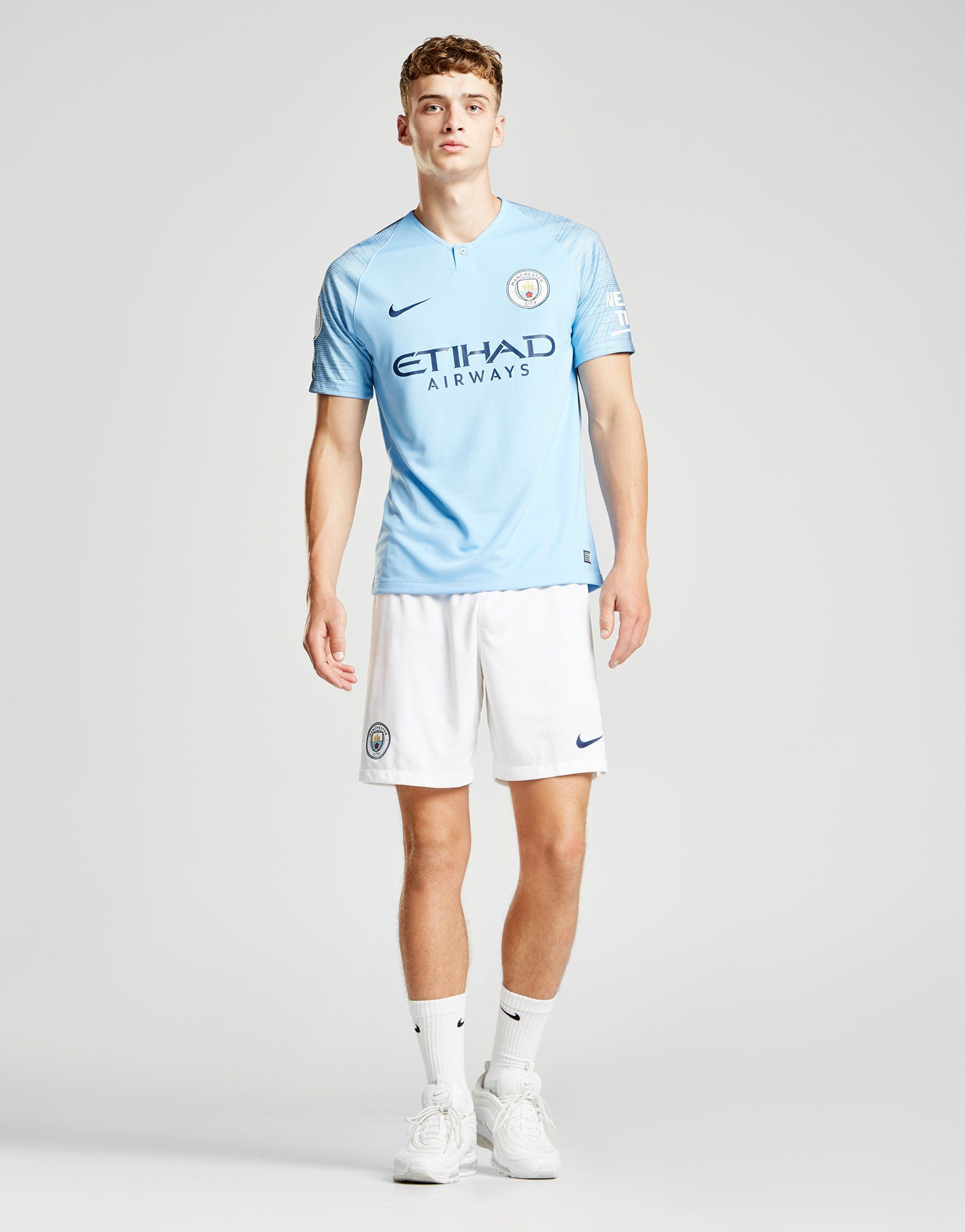 Nike Manchester City 2018/19 De Bruyne #17 Home Shirt