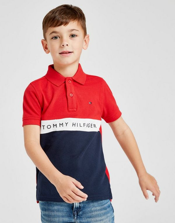 904102fde Tommy Hilfiger Colour Block Polo Shirt Children