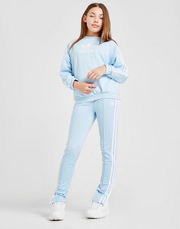 adidas Originals Girls' Logo Crew Sweatshirt Junior