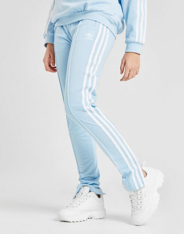 fce0cf179d81 adidas Originals Girls  Superstar High Waisted Track Pants Junior ...