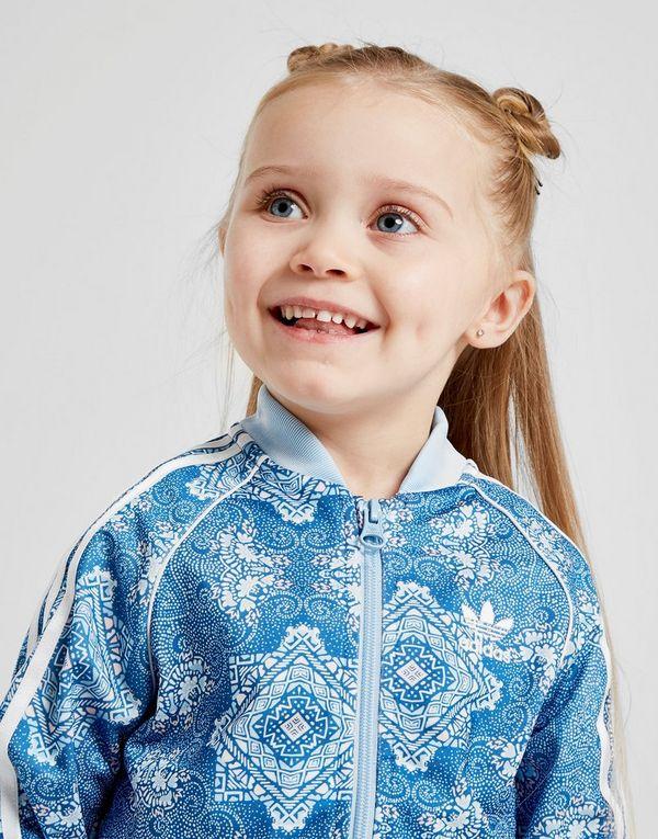 1f6af2ef0 adidas Originals Girls  All Over Print Superstar Tracksuit Infant ...