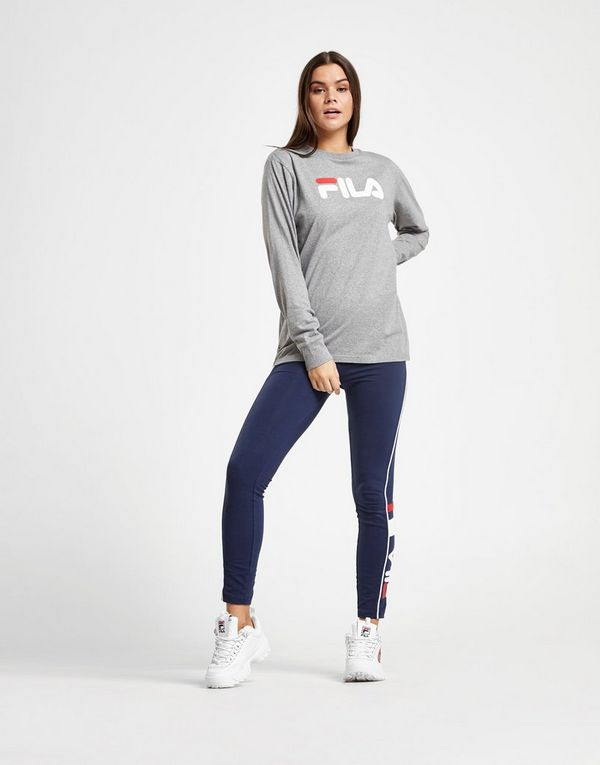 Fila T-shirt à manches longues Boyfriend Femme   JD Sports 5f845a2704ed