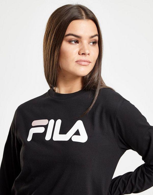 65b93f48c3c Fila Long Sleeve Boyfriend T-Shirt | JD Sports Ireland