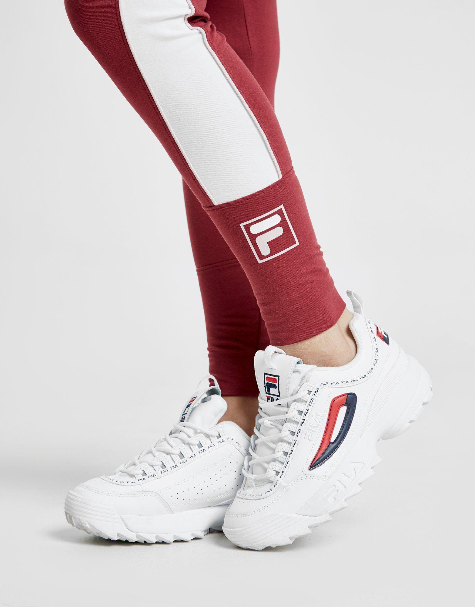 Fila Box Logo Leggings Donna