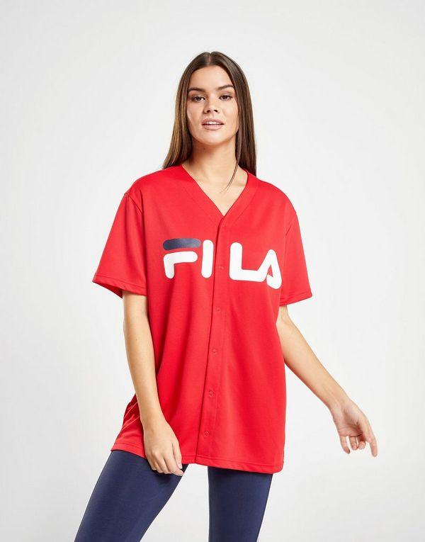 058e4557ce5dac Fila Mesh Baseball T-Shirt