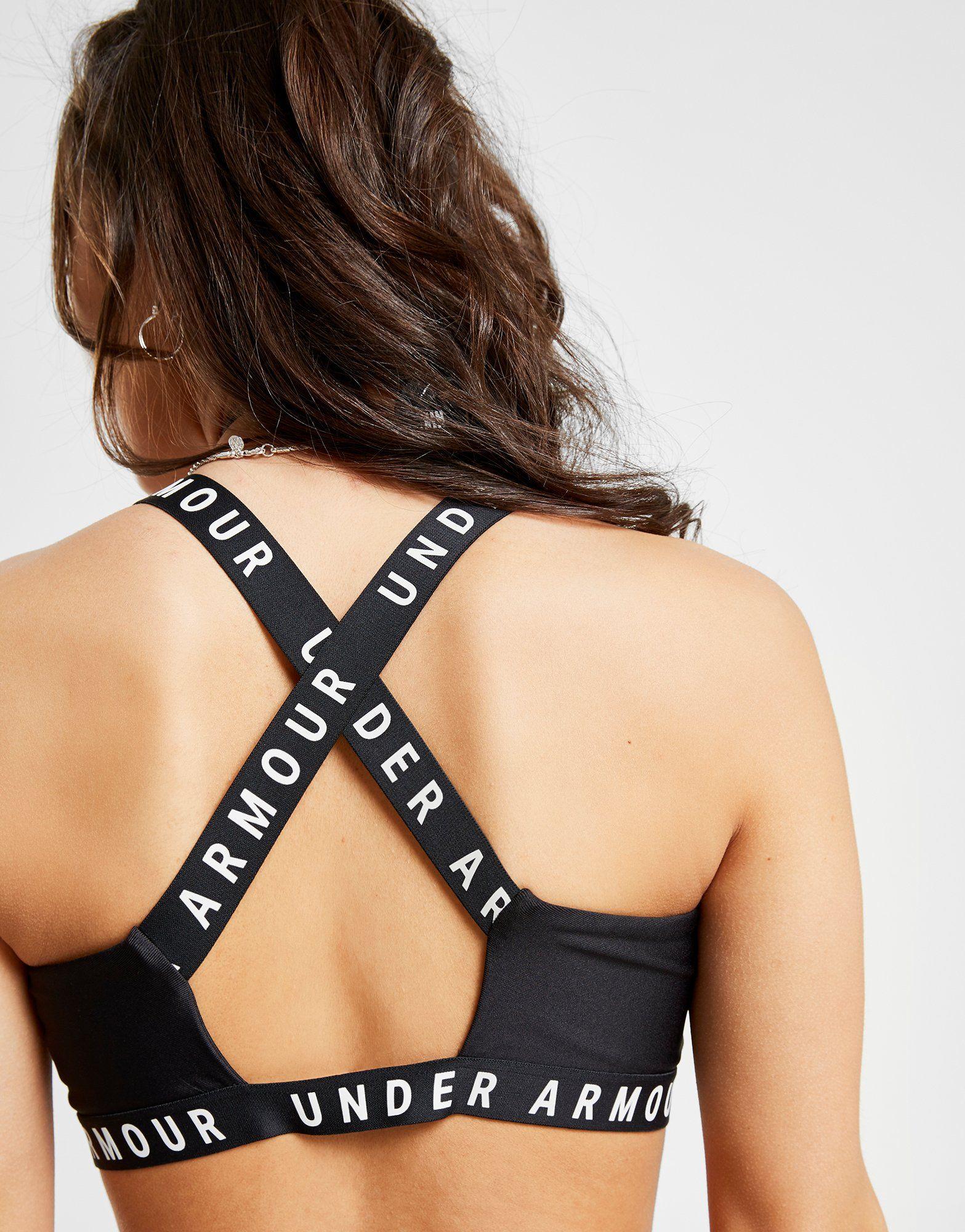 Under Armour Soutien-gorge de sport Logo Cross-Back Femme