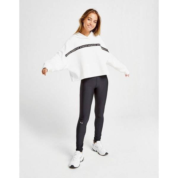 Under Armour Tape Crop Overhead Hoodie Dames