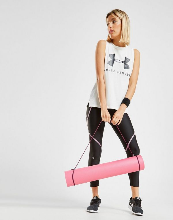 Under Armour Logo Muscle Tank Top Dames