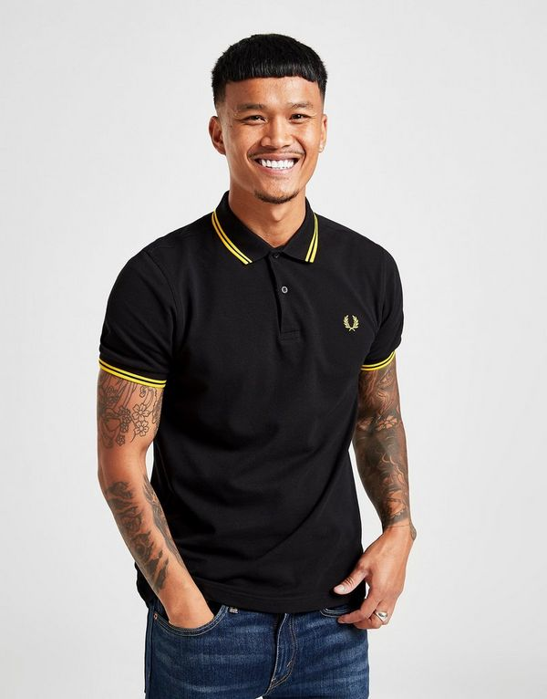bfcf4022c8e3 Fred Perry Slim Twin Tipped Short Sleeve Polo Shirt | JD Sports Ireland