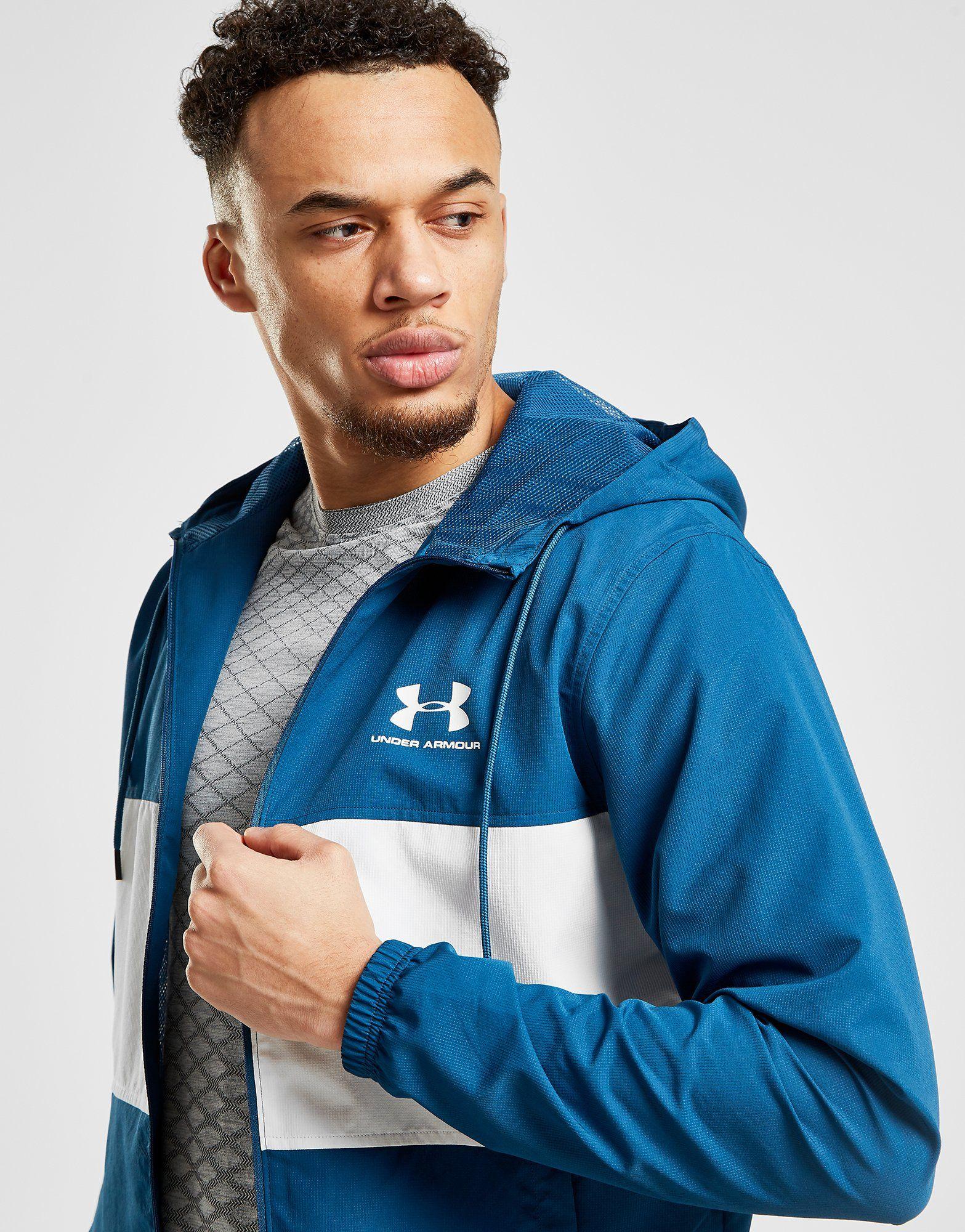 Under Armour Sportstyle Colour Block Wind Jacket