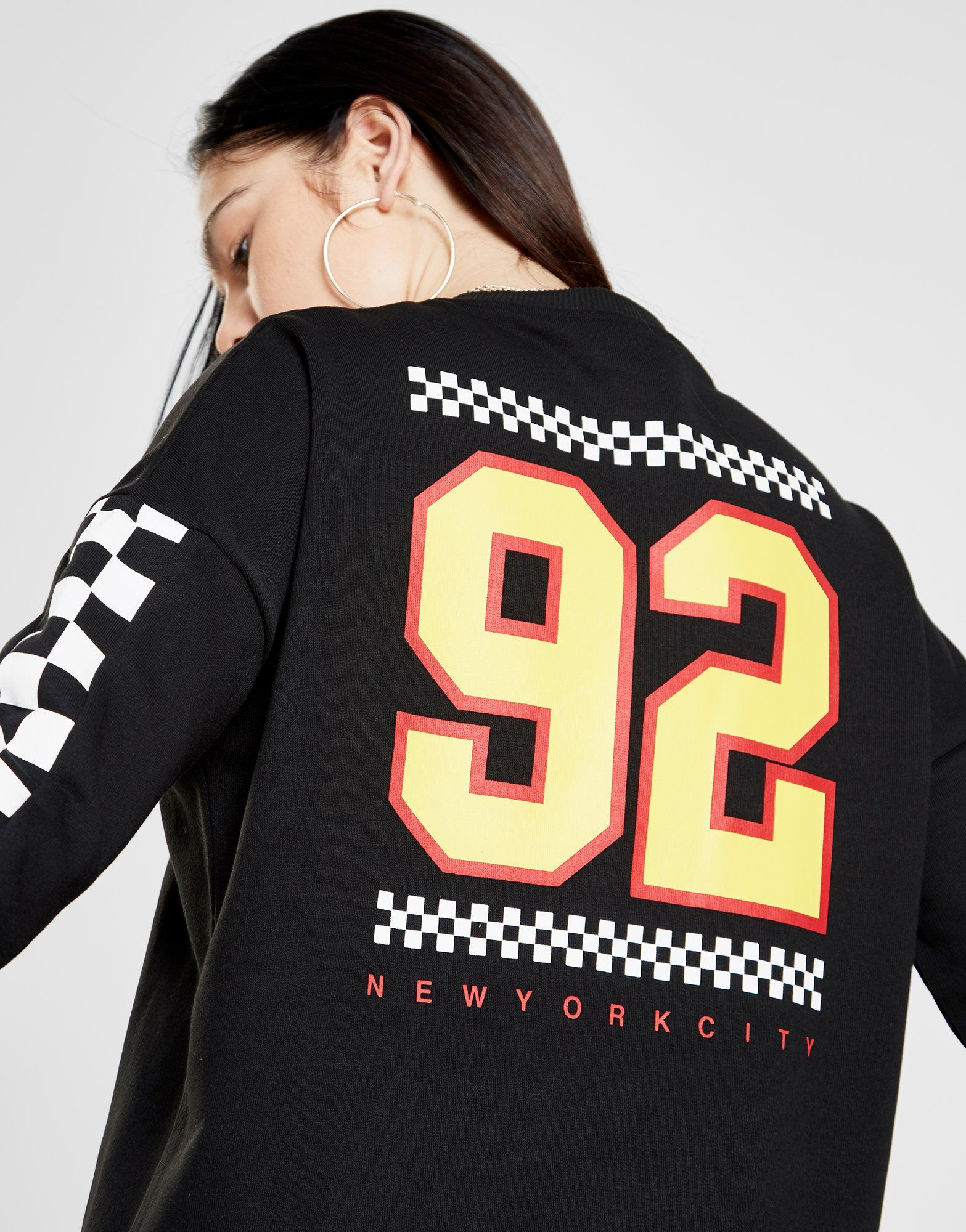 Supply & Demand Speed Oversized Crew Sweatshirt