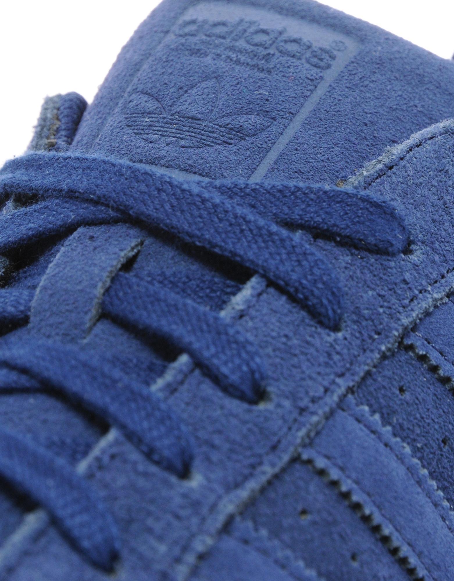 Adidas Superstar Navy Suede