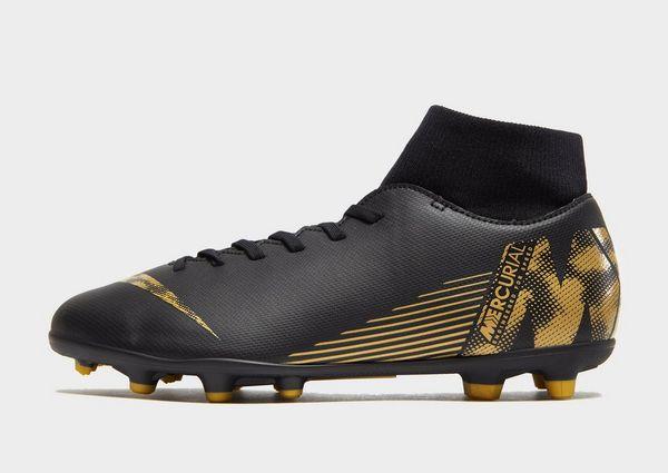 promo code 257ab 427c7 Nike botas de fútbol Black Lux Mercurial Superfly Club FG