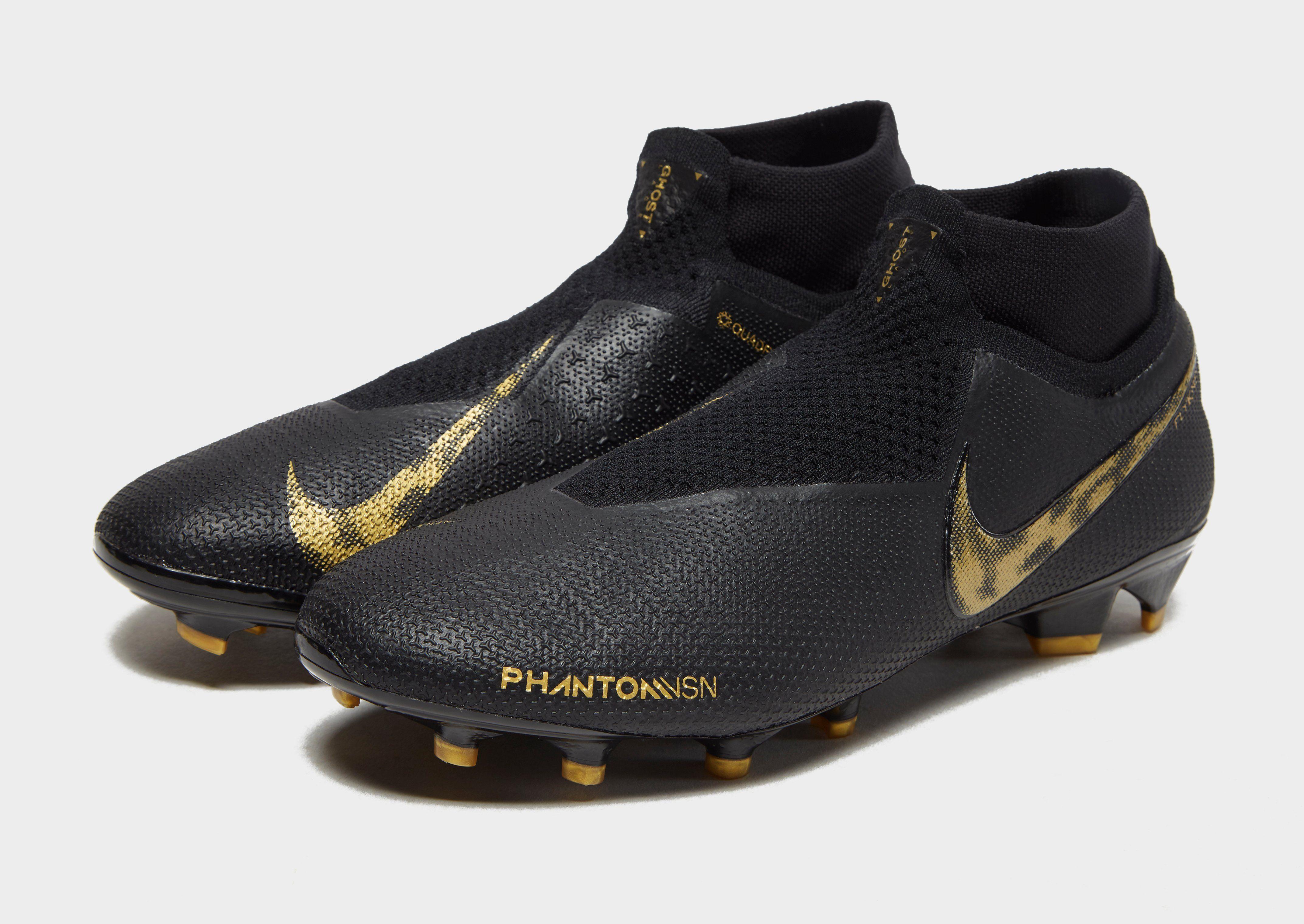 Nike Black Lux Phantom Vision Elite FG