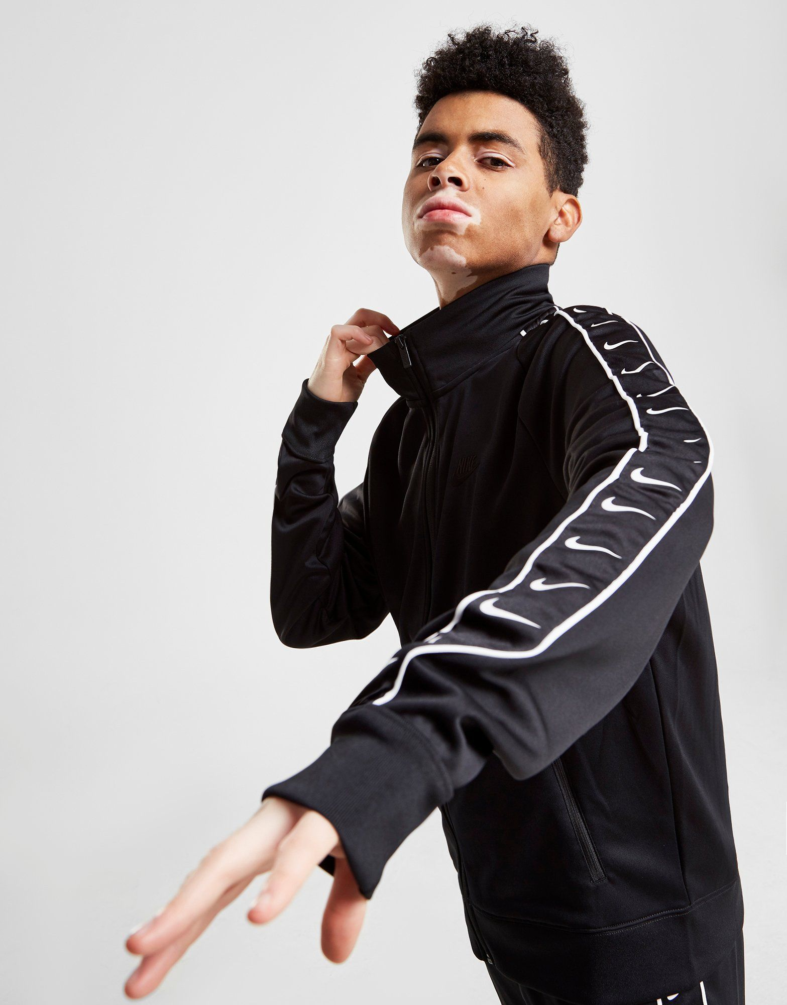 Nike Taped Poly Track Top