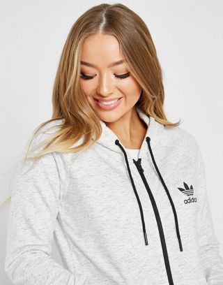 adidas Originals Space Dye Full Zip Hoodie | JD Sports Ireland