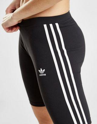 adidas Originals 3 Stripes Radlerhose Damen | JD Sports