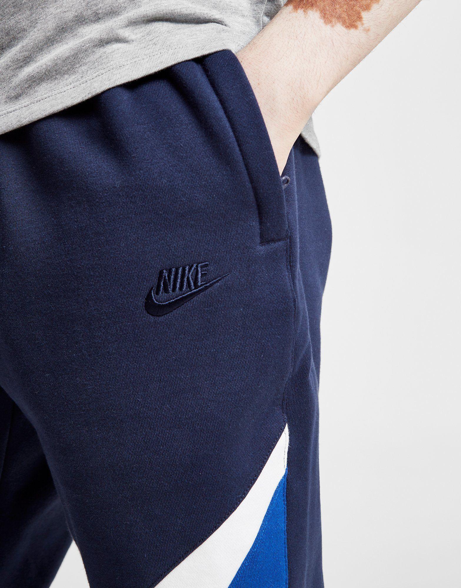 Nike Pantalon de survêtement Swoosh Colour Block Homme