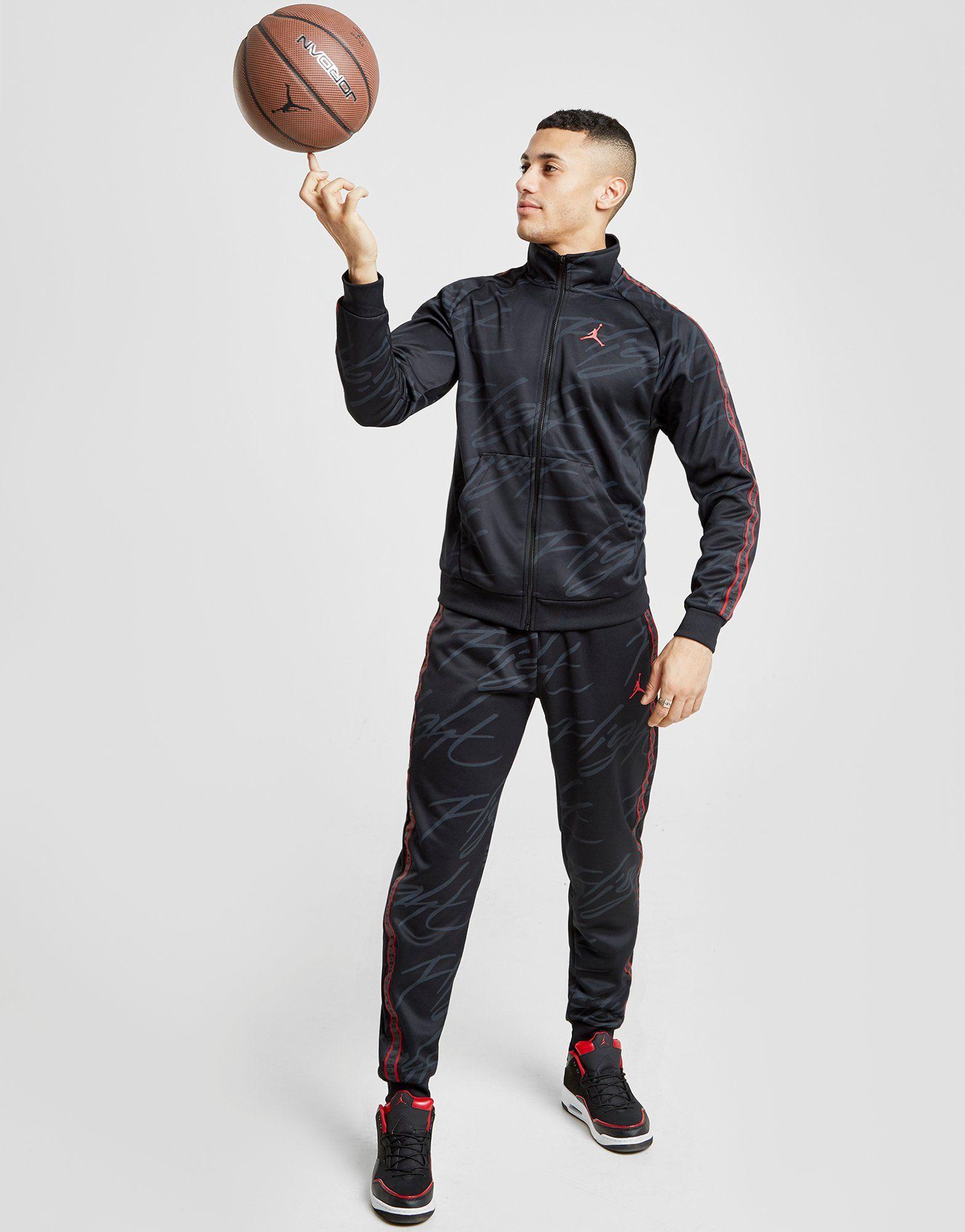 NIKE Jordan Jumpman Tricot Men's Graphic Trousers