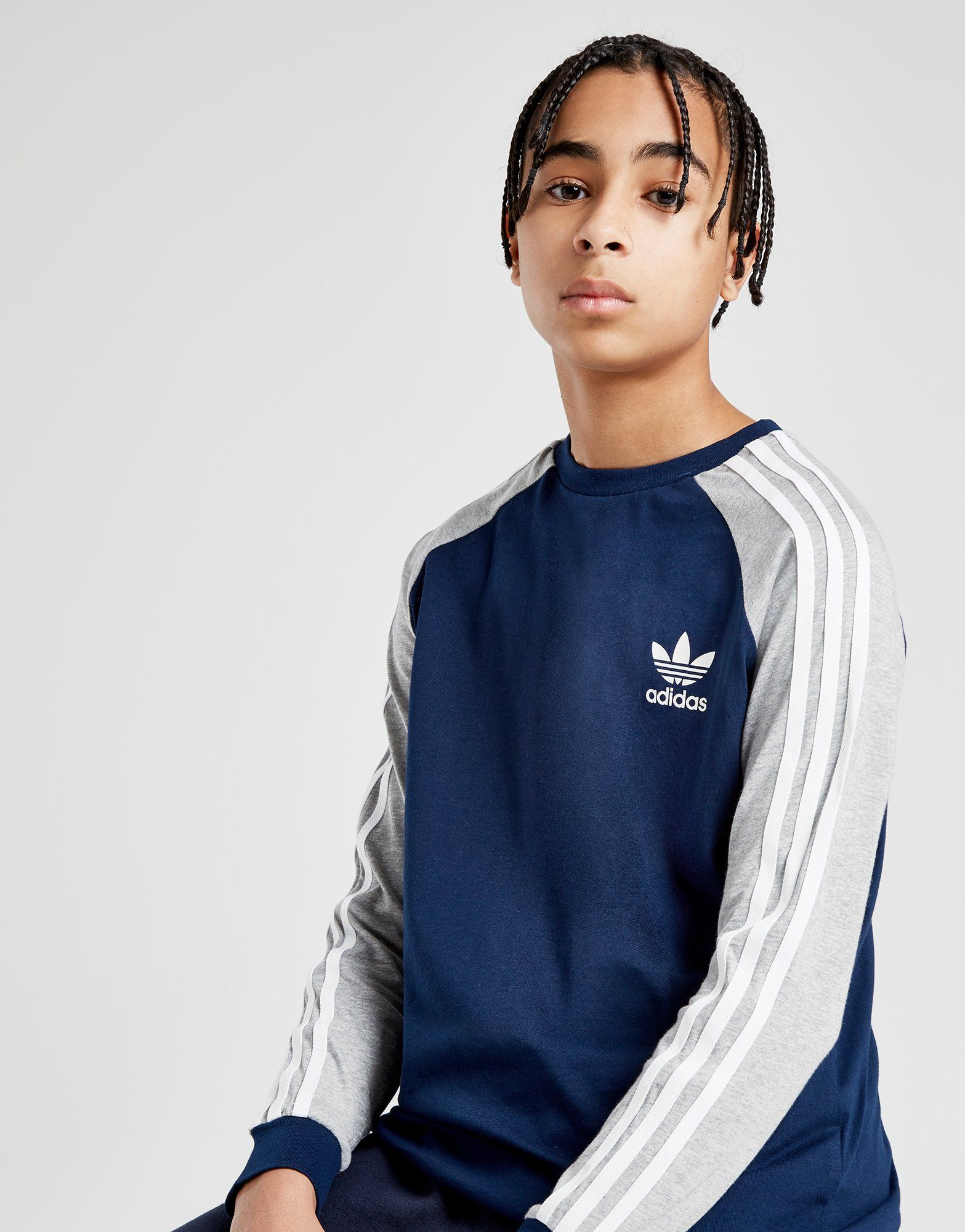great deals 2017 attractive price new collection adidas Originals California Long Sleeve T-Shirt Junior | JD Sports Ireland